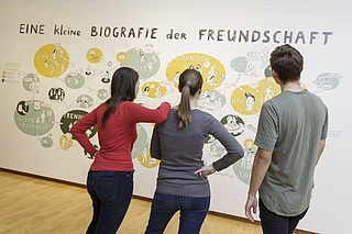 Like you! Freundschaft digital und analog!