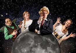 Mainz lebt auf seinen Plätzen: Peterchens Mondfahrt