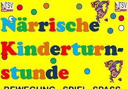 Närrische Kinderturnstunde des TSV Auringen