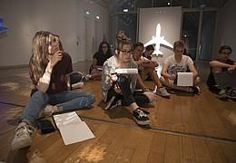 Schirn Studio. Die Kunstwerkstatt: Kunsttreffpunkt