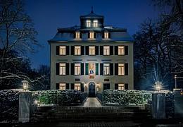 Schlosskater Ferdinand auf Entdeckungsreise im Holzhausenpark