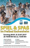 Spiel und Spaß im Freibad Eschersheim