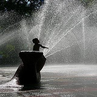 Wasserspielanlage im Tannenwald steht vor der Eröffnung