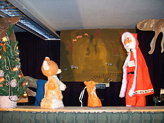 Wie Willibald der Fuchs Weihnachten feiert