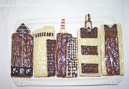 Wolkenkratzer - Plätzchen im Januar