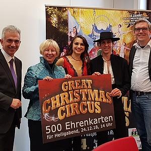 Besonderer Heiligabend im Great Christmas Circus