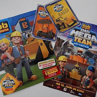 Bob der Baumeister kommt mit seinem Mega Team ins Kino