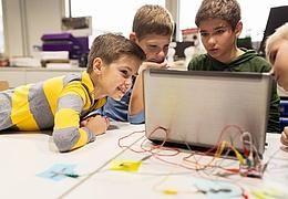 Robot School: Corona-konformes Feriencamp