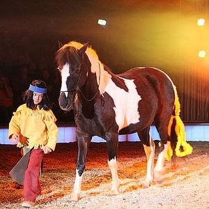YAKARI verzaubert als Pferdespektakel die Kinder