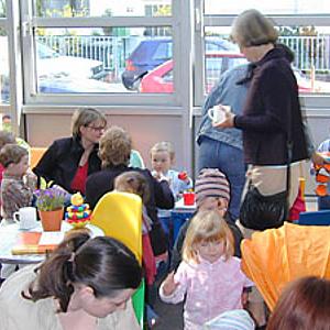 Familien-Infocafé auch in den Sommerferien geöffnet