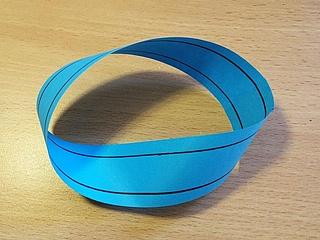 Experiment für Zuhause: Das Möbiusband