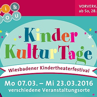 Start des Vorverkaufs für Wiesbadener Kinderkulturtage