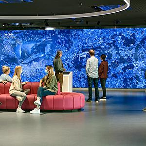 Neues multimediales Fraport-Besucherzentrum