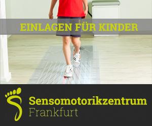 Sensomotorische Einlagen für Kinder