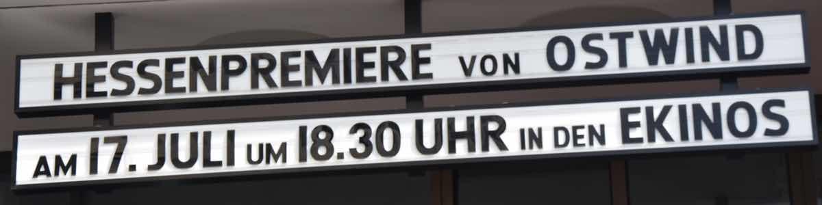 Hessen-Premiere Ostwind 3 - Aufbruch nach Ora