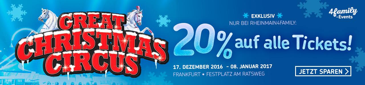 The Great Christmas Circus in Frankfurt