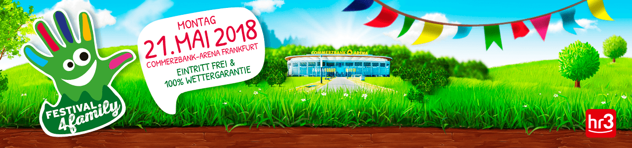 Festival4Family 2018 am 21.05.2018 in der Commerzbank Arena Frankfurt